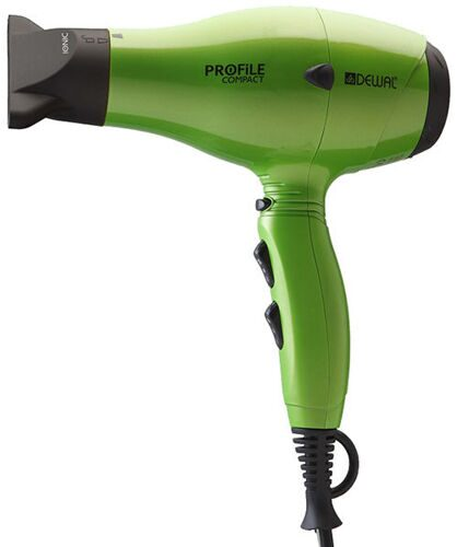 Фен DEWAL Profile Compact 2200 green